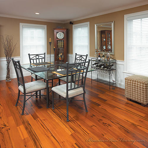Brazilian Koa Flooring Picture Gallery