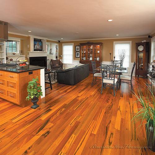 Brazilian Koa Hardwood Flooring engineered brazilian koa tigerwood prefinished 4 3 as low Koa Wood Flooring Wb Designs